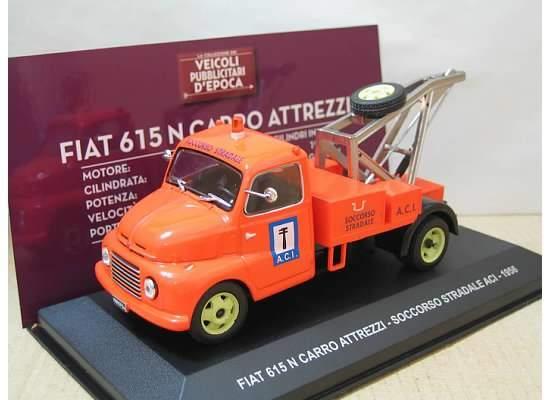 Carroattrezzi FIAT 615 N del 1956 per soccorso ACI