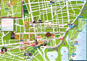 Mappa turistica di Catania da scaricare