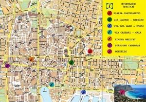 Mappa turistica di Messina da scaricare
