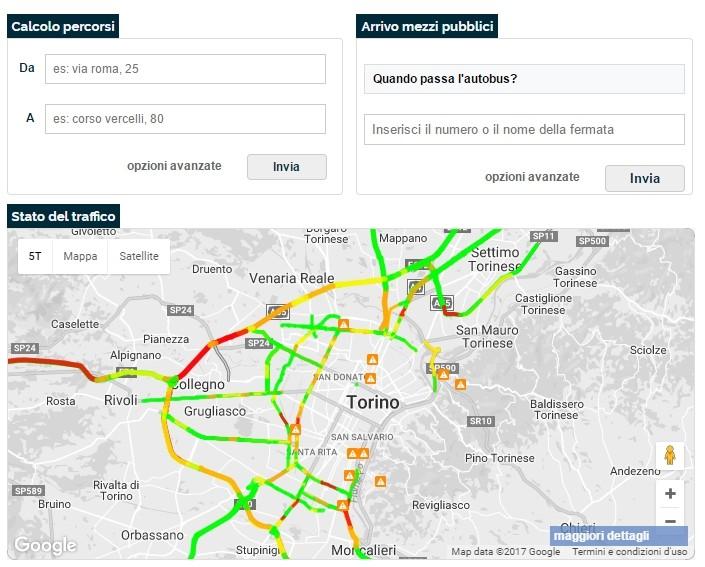Traffico e trasporti pubblici a Torino